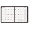 AT-A-GLANCE Contemporary Wirebound Monthly Planner, 6 7/8 x 8 3/4, Graphite, 2014