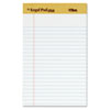 The Legal Pad Plus Perforated Pads, Jr Legal Rule, 5 x 8, White 50 Sheets, 12/Pk