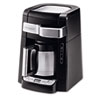 DeLONGHI 10-Cup Frontal Access Coffee Maker, Black