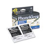 PhoneKleen Wet Wipes, Cloth, 5 x 5, 18/Box