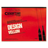 Clearprint 10001422 Design Vellum Paper, 16lb, White, 18 x 24, 50 Sheets/Pad CHA10001422 CHA 10001422
