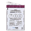MMF Industries FREEZFraud Bags, 9 x 12, White, 100/Box