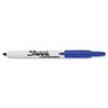 Sharpie Retractable Permanent Marker, Fine Point, Blue