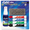 EXPO Dry Erase Starter Set, Chisel Tip, Assorted, 4/Set