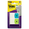 Preprinted File Tabs, 1 x 1 1/2, Letters A-Z, 28/Pack