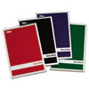 Steno Book with Assorted Colored Cover, 6 x 9, Green Tint, 4 80-Sheet Pads/Pack