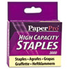 Heavy-Duty Staples, 3/8 Inch Leg Length, 3,000/Box