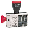 2000 PLUS Dial-N-Stamp, 12 Phrases, 1 1/2 x 1/8