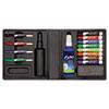 EXPO Dry Erase Marker/Eraser/Cleaner, Chisel/Fine, Assorted, 12/Set