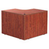 Valencia Series Corner Desk Shell, 42w x 42d x 29-1/2h, Medium Cherry