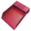 Aurora Products ProFormance Crocodile Memo Tray for 4 x 6 Notes, Red