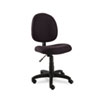 Alera Essentia Series Swivel Task Chair, Acrylic, Black