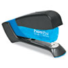Compact Stapler, 15-Sheet Capacity, Translucent Blue