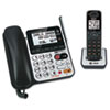 AT&T CL84100 Corded/Cordless DECT 6.0 Phone System with Answering Machine