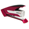 Prodigy Spring Powered Stapler, 25-Sheet Capacity, Red/Silver