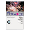 FIREWORX Colored Paper, 20lb, 11 x 17, Bottle Rocket Blue, 500 Sheets/Ream