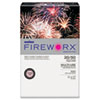 Boise Fireworx Colored Paper, 20lb, 11 x 17, Powder Pink, 500 Sheets/Ream, RM - CASMP2207PK