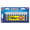 Rayovac 81530CTF2 Alkaline Batteries, AA, Value Pack 24/6 Free, 30/Pack RAY81530CTF2 RAY 81530CTF2