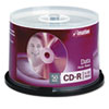 imation CD-R Discs, 700MB/80min, 52x, Spindle, Silver, 50/Pack