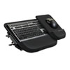 Fellowes Tilt 'n Slide Keyboard Manager with Comfort Glide, 19-1/2w x 11-1/2d, Black