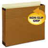 Smead Easy Grip File Pocket, Letter, 3 1/2