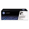 HP 36A, Black Original LaserJet Toner Cartridge