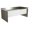 Alera SE216630ES SedinaAG Series Straight Front Desk Shell, 66w x 30d x 29-1/2h, Espresso ALESE216630ES ALE SE216630ES