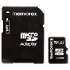 Memorex microSD Travel Card, Class 6, 16GB