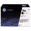 Q7516AG (HP 16A) Government Smart Toner Cartridge, 12,000 Page-Yield, Black