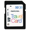 Memorex SDHC TravelCard, 32GB