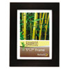 Bamboo Frame, 5 x 7, Black