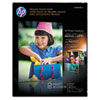 HP Premium Photo Paper, 64 lbs., Glossy, 8-1/2 x 11, 15 Sheets/Pack