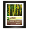 Bamboo Frame, 8 x 10, Black