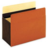 "Redrope File Pocket, 7"" Expansion, Letter, 5/Box"