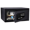 Sentry Safe Electronic Lock/Card Swipe Security Safe, 1.1 ft3, 18w x 16d x 9h, Black