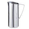 Stainless Steel Pitcher, 2 qt, Chrome
