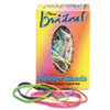 Alliance Brites Pic Pac Rubber Bands, Blue/Orange/Yellow/Lime/Purple/Pink, 1-1/2-oz Box