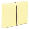 Smead Two Inch Accordion Expansion Wallet with String, Letter, Yellow, 10/BX