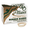 Pale Crepe Gold Rubber Bands, Size 19, 3-1/2 x 1/16, 1lb Box