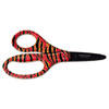 "Kids Designer Non-Stick Scissors, 5"" Length, 1-5/8"" Cut, Pointed, Assorted"