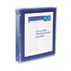 "Avery Flexi-View Binder with Round Rings, 1"" Capacity, Navy"