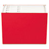 "Case File, 12 Pocket,  3/4"" exp., Letter, Red, 1/ea"