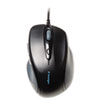 Kensington Pro Fit Wired Full-Size Mouse, USB/PS2, Right, Black