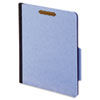 "40 Pt. Classification Folders, 2"" Fasteners, 4 sections, 2/5, Ltr, blue, 10/BX"