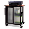 Impromptu Personal Mobile Storage Center, 25-1/4w x 17-1/4d x 26-1/2h, Black