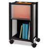 Impromptu Mobile Storage Center, 16-1/2w x 11d x 26-3/4h, Black