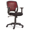 Eikon Series Swivel/Tilt Mesh Task Chair, Burgundy