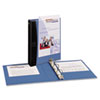 Avery Mini Durable View Comfort Touch Binder, 5-1/2 x 8-1/2, 1
