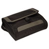 CityGear Miami Messenger Laptop Case, Nylon, 19 x 5 x 14, Black/Gray/Yellow