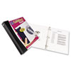Comfort Touch Durable View Binder with Slant D Rings, 1-1/2&quot; Capacity, White